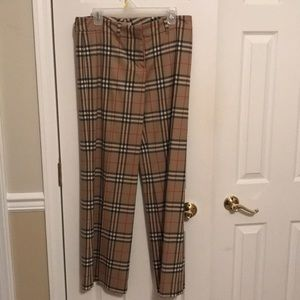 Authentic wool Burberry trousers
